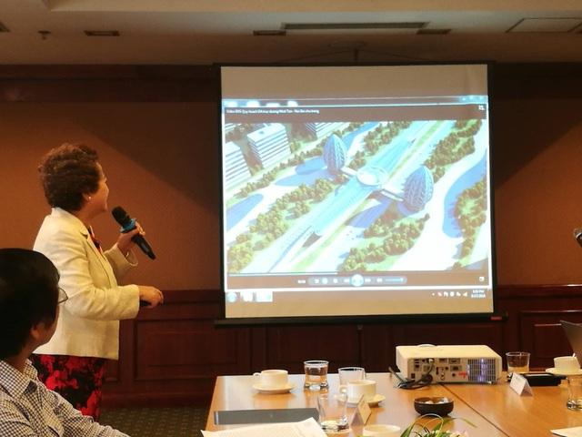 Thành phố thông minh 4 tỷ USD trục Nội Bài - Nhật Tân được kỳ vọng sẽ là đô thị thông minh đầu tiên về hạ tầng.