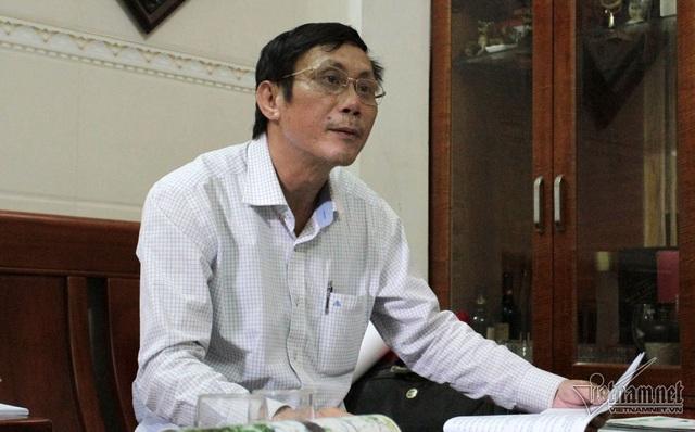Ông Đào Quang Nghị (em trai chị Hoa) - Ảnh: Q.Huy