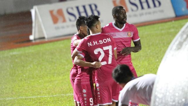 Trận thắng giúp Sài Gòn FC thoát được vị trí áp chót bảng xếp hạng
