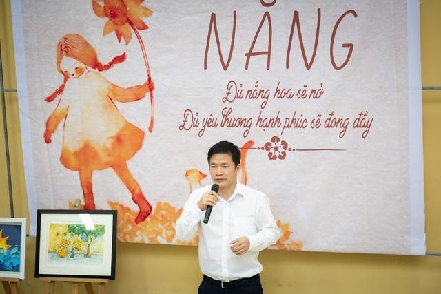 TS.BS nha khoa Nguyễn Phú Hòa phát biểu tại Lễ trao giải.