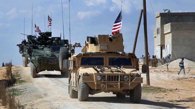 Lực lượng quân sự Mỹ ở Syria (Ảnh minh họa: ABC News)