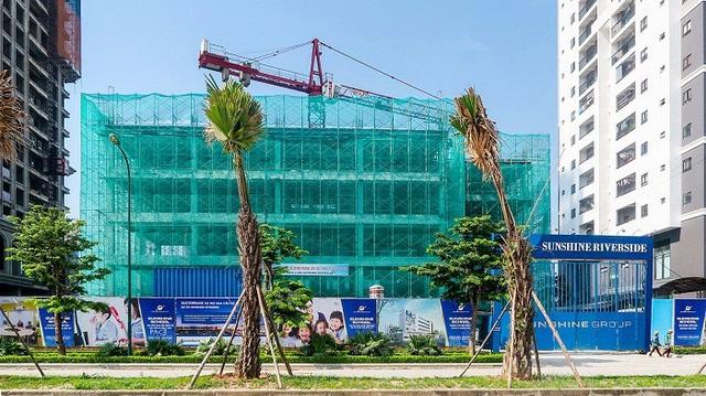 Sunshine School có diện tích gần 5.000 m2, mang đến môi trường học lý tưởng cho con em cư dân Sunshine Riverside
