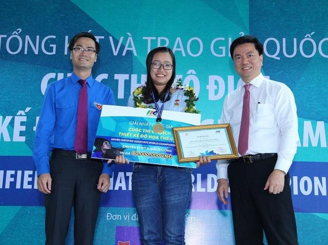 Thảo Nguyên - người duy nhất đại diện cho Việt Nam tham dự cuộc thi Vô địch Thiết kế Đồ họa Thế giới 2018 sắp diễn ra tại Mỹ