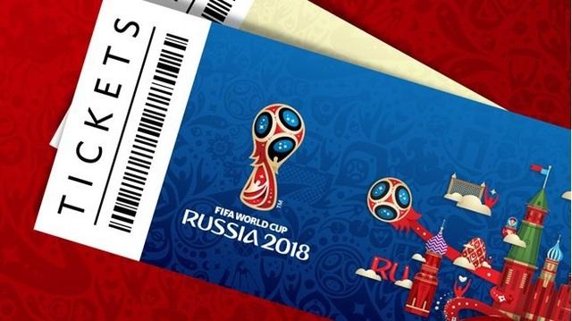 Hơn 10.000 tấm vé giả vào xem World Cup 2018 tại Nga đã bán ra trên toàn cầu. (Nguồn: englandsupporters.thefa.com)