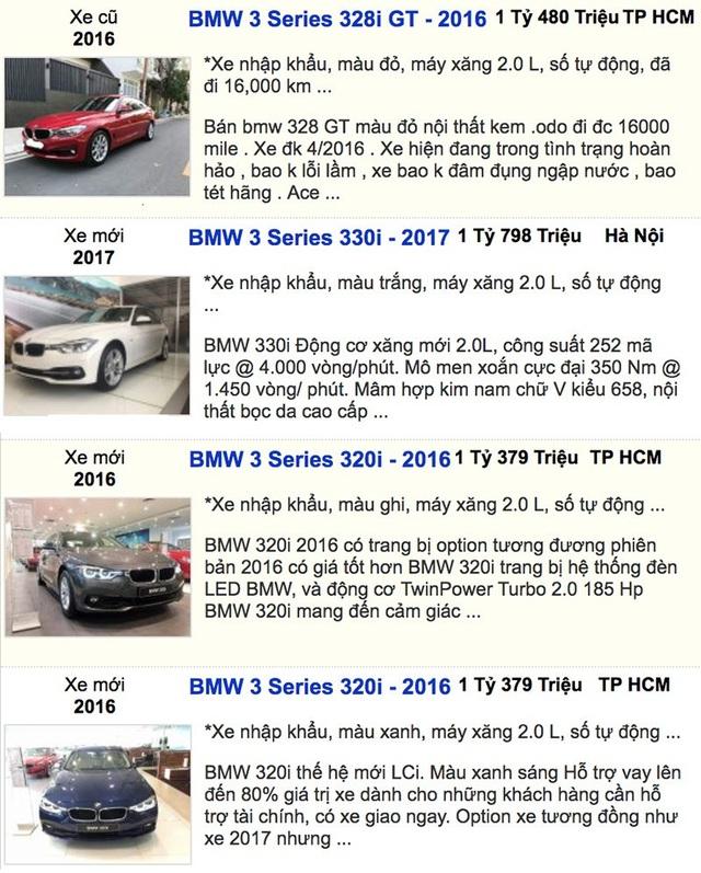 Kỳ lạ xe cũ đắt hơn xe mới cả trăm triệu đồng - 3