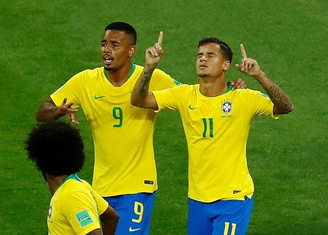 Brazil vẫn được đánh giá rất cao
