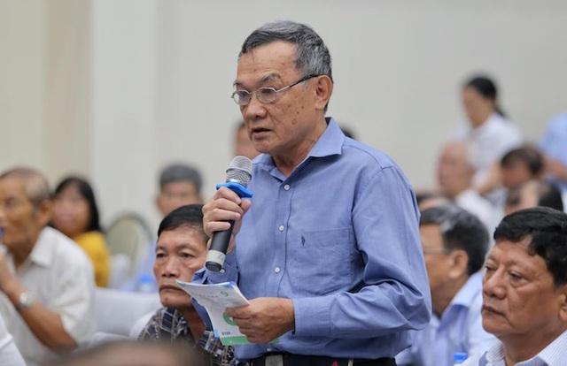 Cử tri TPHCM bày tỏ sự quan tâm đến những dự thảo luật được thảo luận tại kỳ họp Quốc hội vừa qua