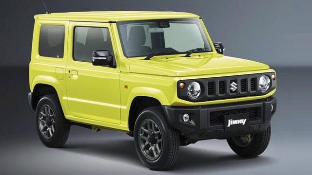 Suzuki Jimny mới chính thức lộ diện - 1