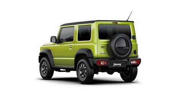 Suzuki Jimny mới chính thức lộ diện - 7