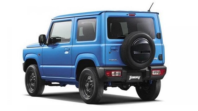 Suzuki Jimny mới chính thức lộ diện - 8