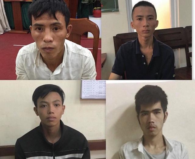 4 đối tượng bị khởi tố