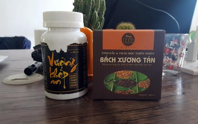 Các sản phẩm chiến lược của Công ty Đông Nam Dược - Chi nhánh tòa nhà Sông Đà, đường Phạm Hùng, Hà Nội.