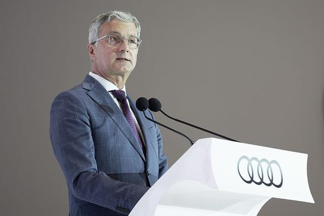 Chấn động thông tin CEO của Audi bị bắt giữ tại Đức - 1