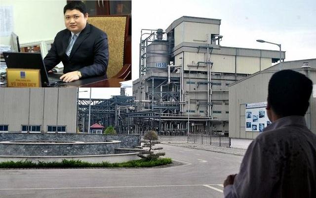Dưới thời Vũ Đình Duy, nhà máy xơ sợi Đình Vũ liên tục lâm cảnh thua lỗ.
