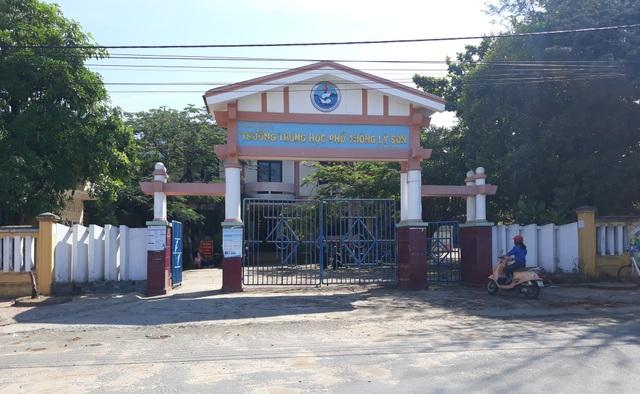 Hòa chung với sự nỗ lực của học sinh cả nước, trên 200 học sinh lớp 12 huyện đảo Lý Sơn đang tăng tốc để bước vào kỳ thi quan trọng. (Ảnh: Quốc Triều)