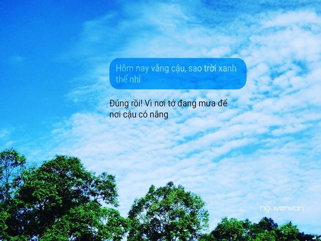 """9x nhẹ nhàng """"thả thính"""" bằng ảnh mây trời cũng khiến dân mạng """"cảm nắng"""" - 8"""