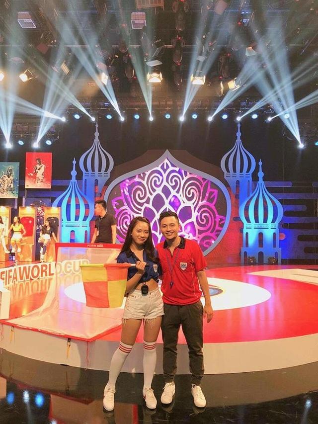 Quỳnh Hương tham gia Nóng cùng World Cup