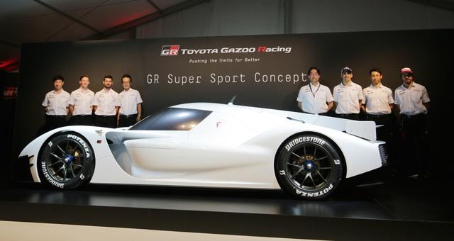 Toyota ấp ủ dự án sản xuất siêu xe thể thao với công nghệ xe đua Le Mans - 1