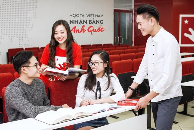 Cơ hội nhận bằng Anh Quốc ngay tại Việt Nam.