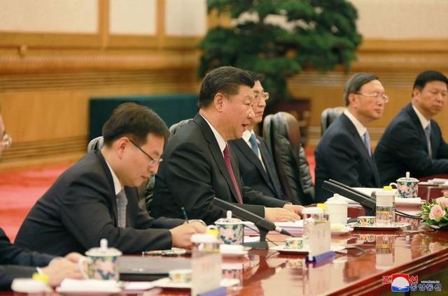 Truyền thông Trung Quốc cho biết kết quả của hội nghị thượng đỉnh Mỹ - Triều là một trong nội dung thảo luận giữa hai nhà lãnh đạo Trung - Triều hôm qua.