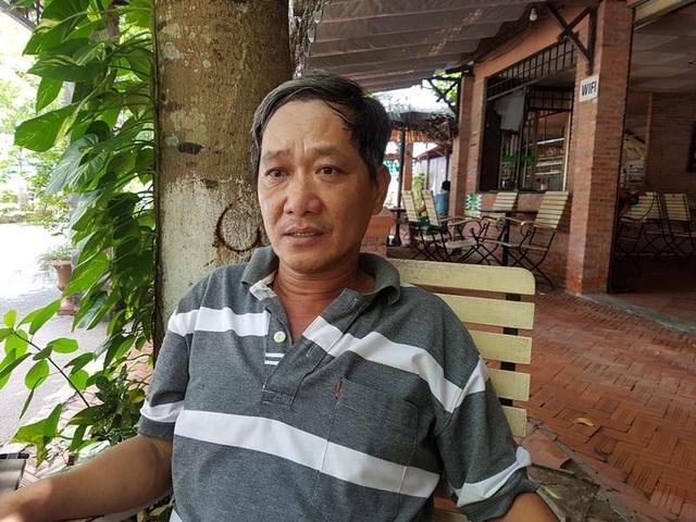 Ông Nguyễn Minh Đức (52 tuổi) ông nội của của bé N.T.H. kể lại vụ việc với PV