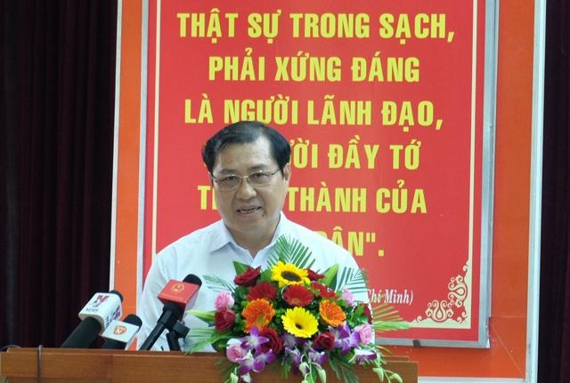 Ông Huỳnh Đức Thơ - Chủ tịch UBND TP Đà Nẵng: Các đoàn thanh kiểm tra, cơ quan điều tra vẫn đang làm rõ vụ Vũ nhôm; điều tra sai phạm đến đâu xử lý đến đấy