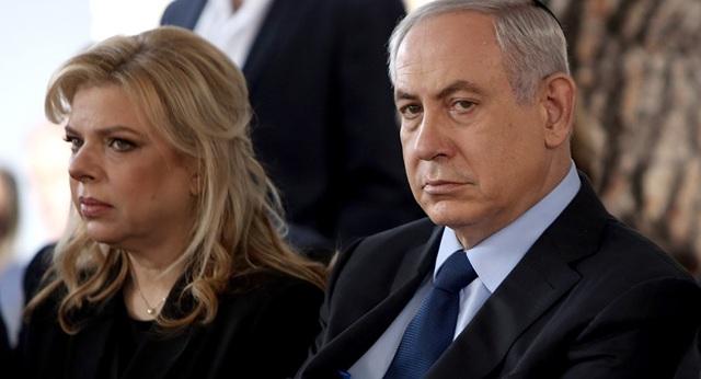 Thủ tướng Israel Benjamin Netanyahu và phu nhân Sara Netanyahu (Ảnh: AP)