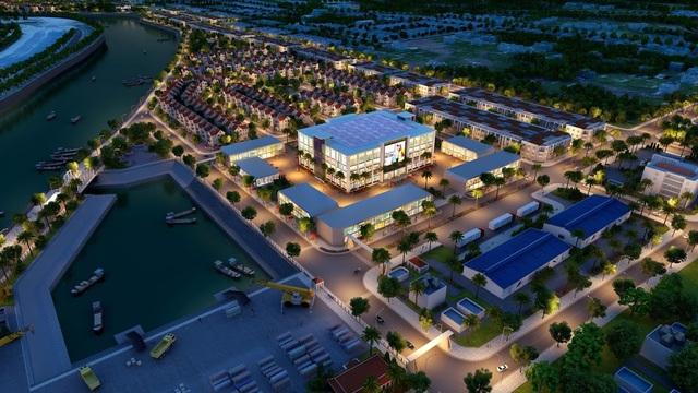 Tiện ích độc quyền: Khu Âu thuyền và TTTM biên mậu đem lại lợi thế đầu tư kinh doanh cho KaLong Riverside City