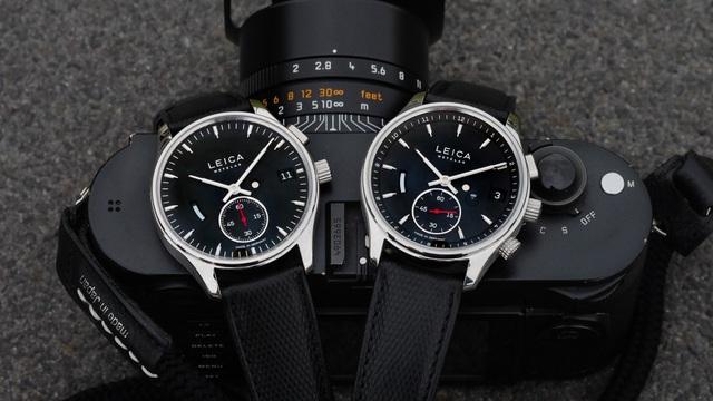 Đồng hồ đeo tay Leica L1 (trái) và Leica L2 (phải)