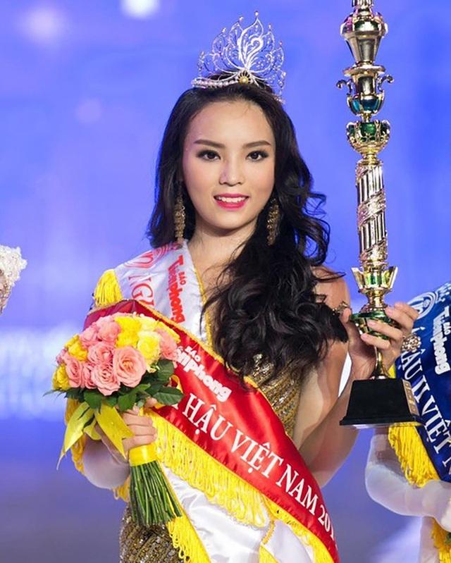Hoa hậu Việt Nam 2014 Nguyễn Cao Kỳ Duyên là một trong số những hoa hậu bị ném đá nhiều nhất khi đăng quang bởi nhan sắc không xinh đẹp