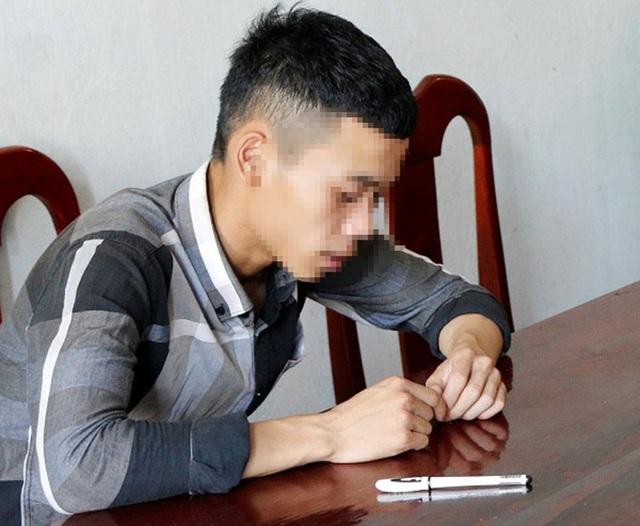 Phạm Văn L. tại cơ quan điều tra.