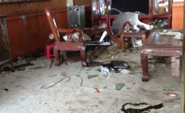 Hiện trường vụ nổ khiến 3 người thương vong