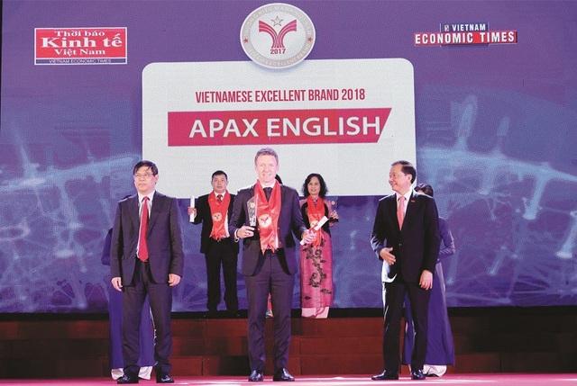 2 giải thưởng danh giá là minh chứng cho sự thành công của Apax English.