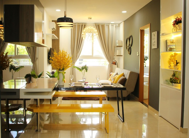 Thiết kế tinh tế, hiện đại bên trong căn hộ Marina Riverside
