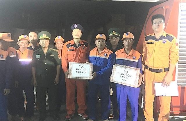 Đến 20h ngày 19/6/2018, toàn bộ 07 thuyền viên và tàu NA 93061 TS đã được đưa về cảng Cửa Lò, Nghệ An an toàn, tiến hành bàn giao cho các cơ quan chức năng địa phương.