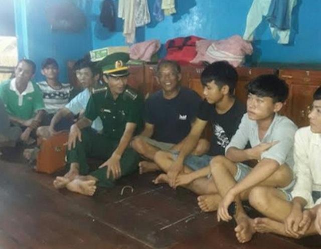 Đến 22h20 ngày 22/6, tàu BP đã cứu nạn thành công tàu cá NA 90988 và 14 thuyền viên, lai dắt vào cảng Cửa Lò an toàn