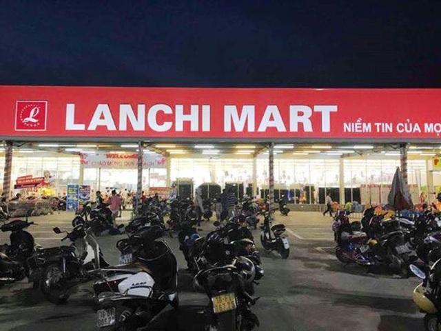 Siêu thị Lan Chi Mart - nơi xảy ra vụ tai nạn đuối nước.