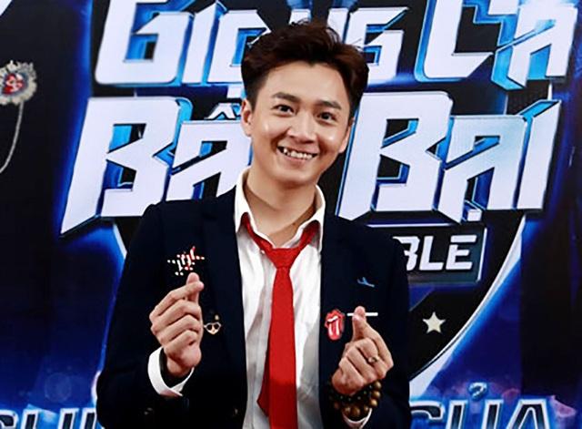 Ngô Kiến Huy đảm nhận vai trò MC của chương trình.