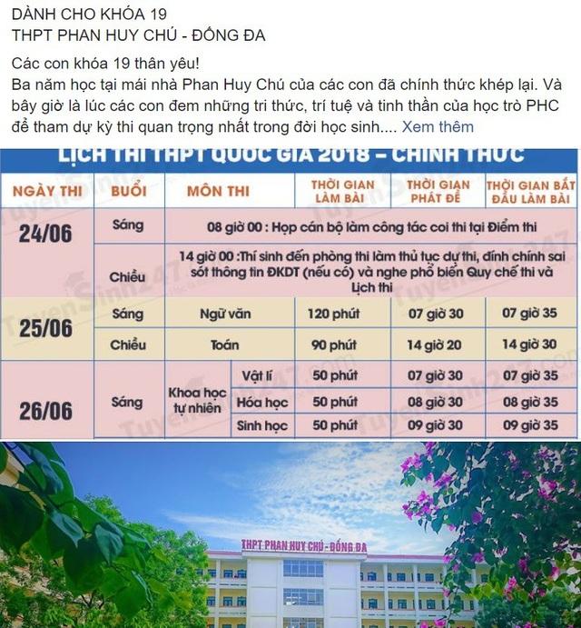 Những lời nhắc nhở và lưu ý hữu ích của thầy Hà Xuân Nhâm đối với các học sinh lớp 12 của mình.