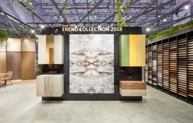 """Điểm nhấn """"Trend Collection 2018"""" của Gỗ An Cường tại Vietbuild HCM 2018"""