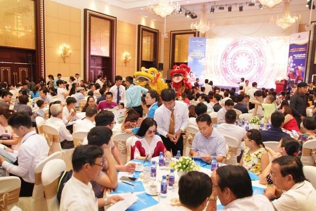Sự kiện mở bán bất động sản của công ty cổ phần Đất Xanh Bắc Miền Trung