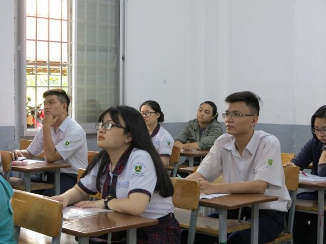 Thí sinh thi THPT quốc gia năm 2018.