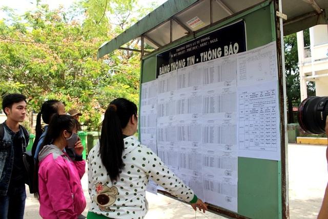 Chùm ảnh: Thí sinh cả nước làm thủ tục dự thi THPT quốc gia 2018 - 14