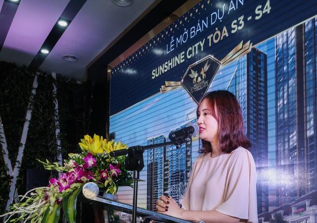 """Bà Đỗ Hồng Nhung – TGĐ Sunshine Housing:""""Điều tôi tự hào chính là tâm huyết và sự đầu tư mà chúng tôi dành cho cư dân của mình""""."""
