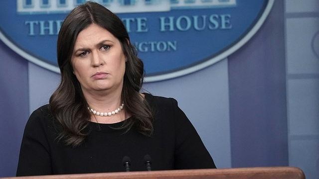 Phát ngôn viên Nhà Trắng Sarah Sanders (Ảnh: Getty)