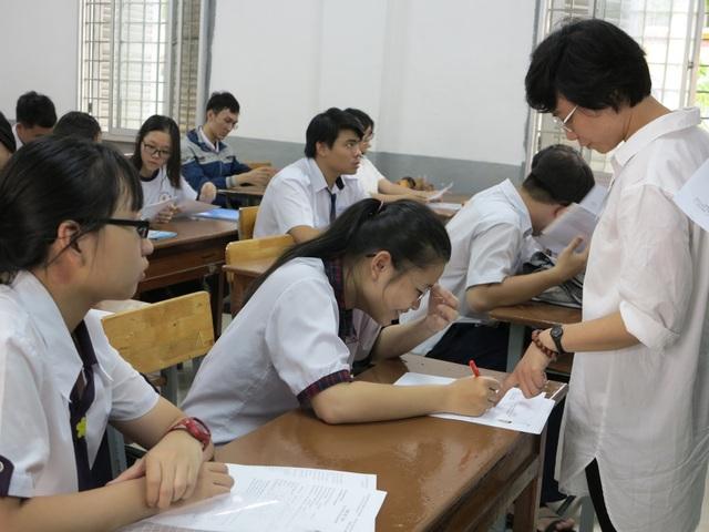 Kết quả kỳ thi THPT quốc gia là cơ sở để các trường ĐH tuyển sinh (ảnh minh hoạ)