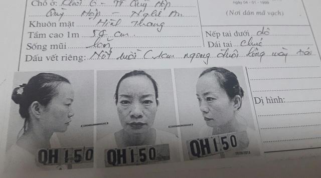 Kiều Hải Vân - ảnh cơ quan điều tra CA huyện Quỳ Hợp cung cấp.