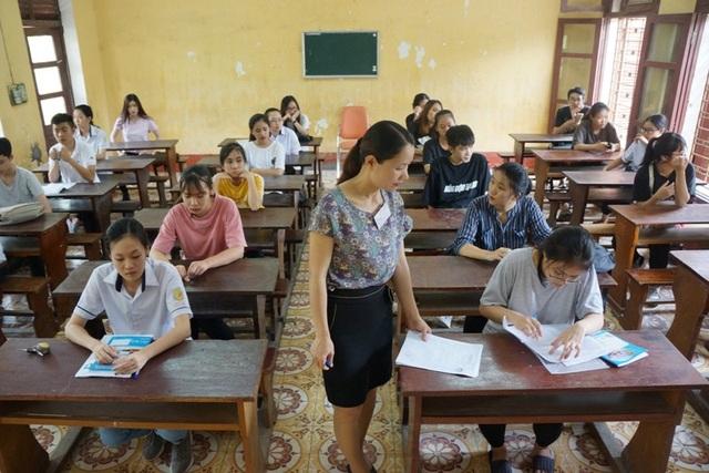 Các thí sinh dự thi môn ngoại ngữ sẽ được xếp chung phòng với những thí sinh thi môn Ngoại ngữ khác nhưng khác đề thi