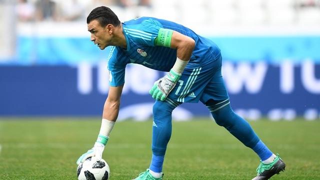 Thủ thành El-Hadary ra sân tại World Cup 2018 ở tuổi 45