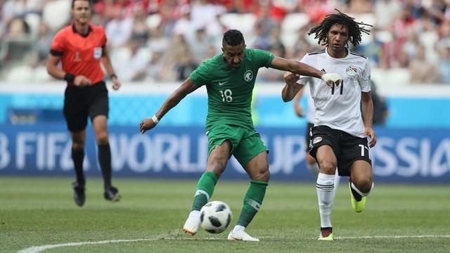 Saudi Arabia thi đấu không hiệu quả ở những phút đầu trận